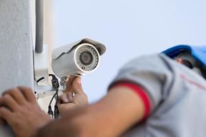 Installation einer Überwachungskamera