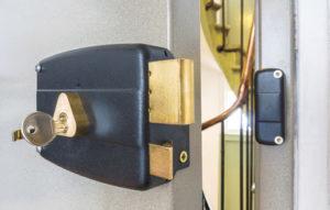 Sicherheitsschloss mit Schlüssel